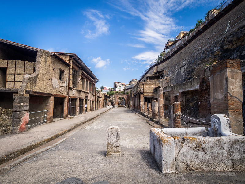 At the East End of Town, Herculaneum, Italy