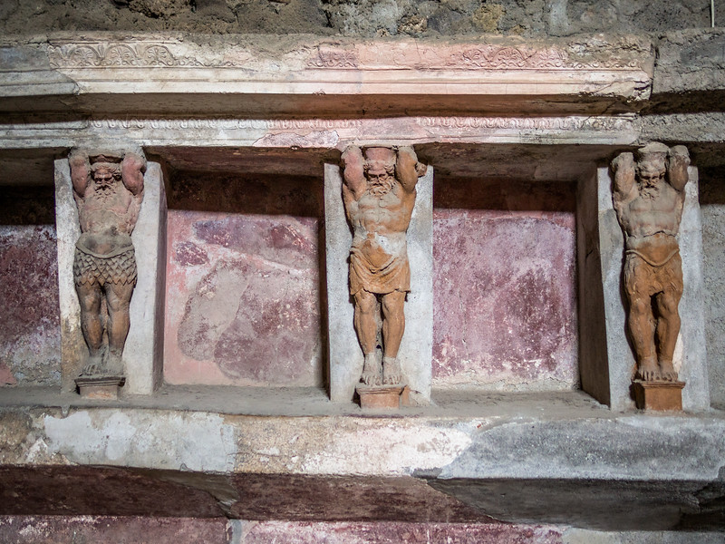 Guardians of the Baths, Pompeii