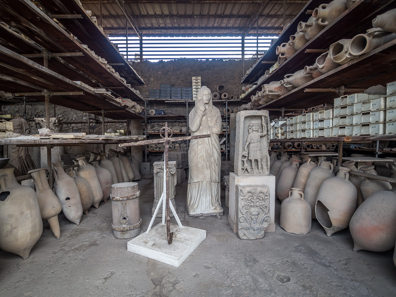 Artifacts, Pompeii