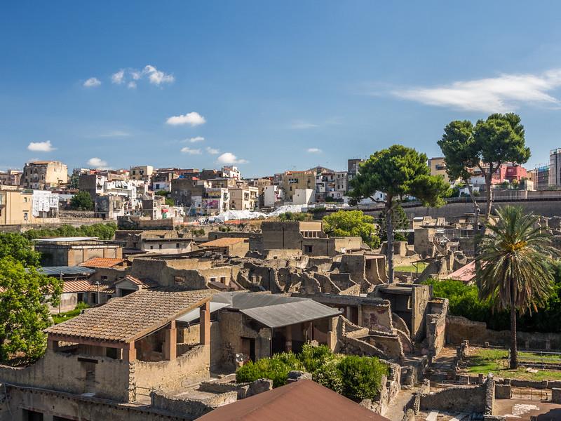 Ercolano over Herculaneum