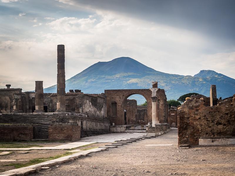 Pompeii Ruins and Vesuvius, Italy