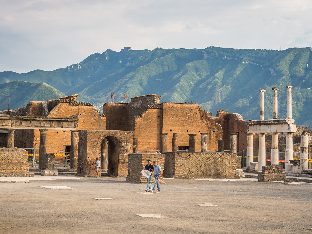 Finding Your Way in Pompeii, Italy