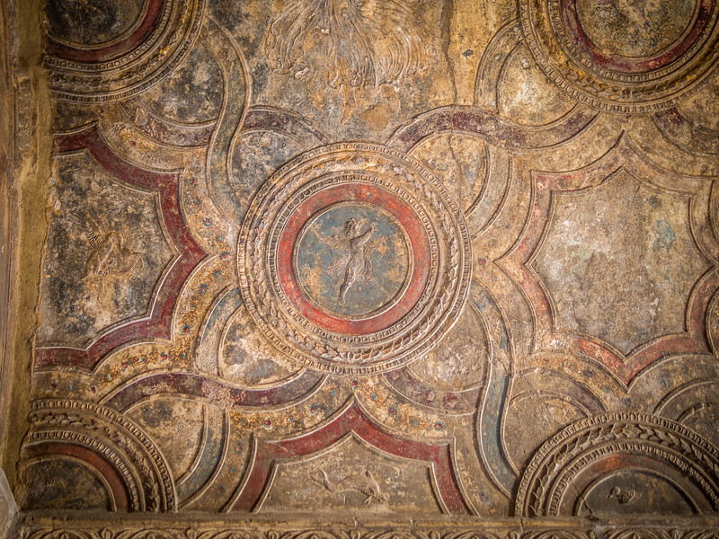 Decorated Ceiling, Pompeii