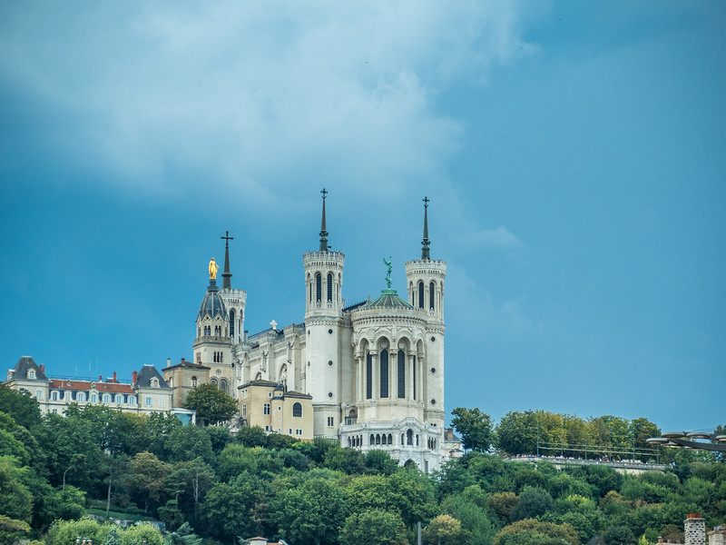 La Basilique de la Fourvière upon the Hill, Lyon, France
