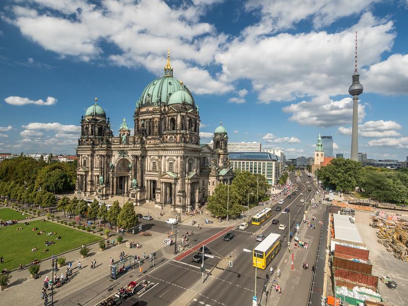 Berliner Dom and East Berlin