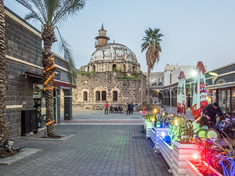 Old Mosque and Restaurants, Tiberias, Israel