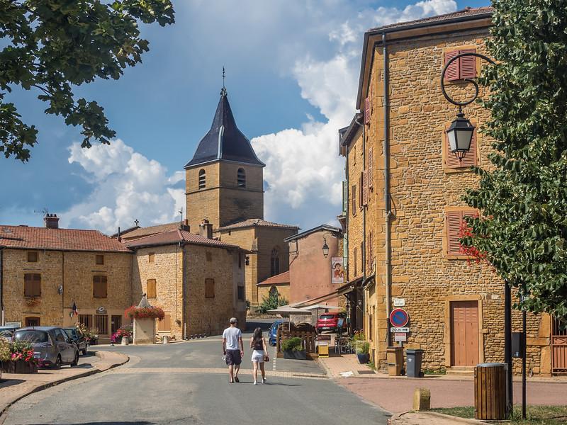 Downtown Bagnols, France