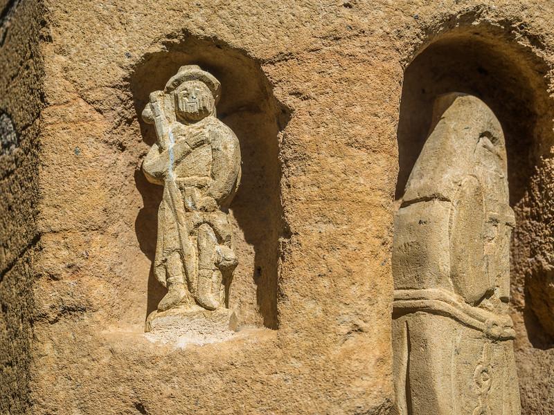 16th Century Carvings, Thiezé, France