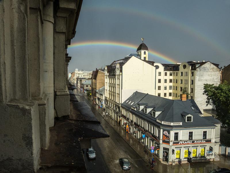 Double Rainbow, Riga