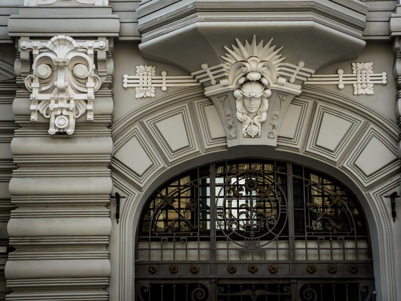 Futuristic Art Nouveau, Riga
