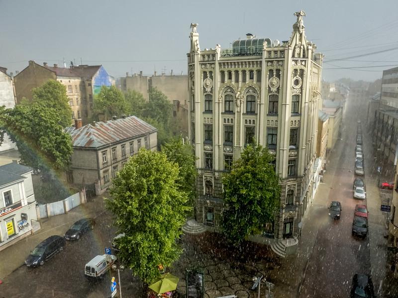 Riga Rainstorm, Latvia