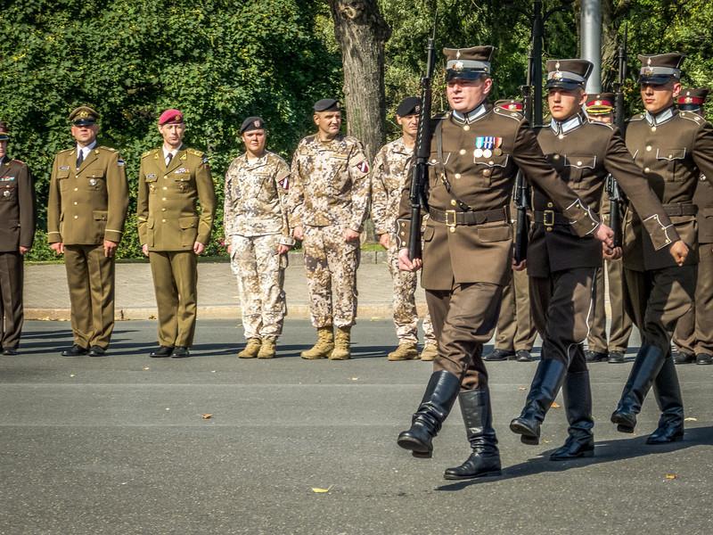 Memorial March, Freedom Monument, Riga