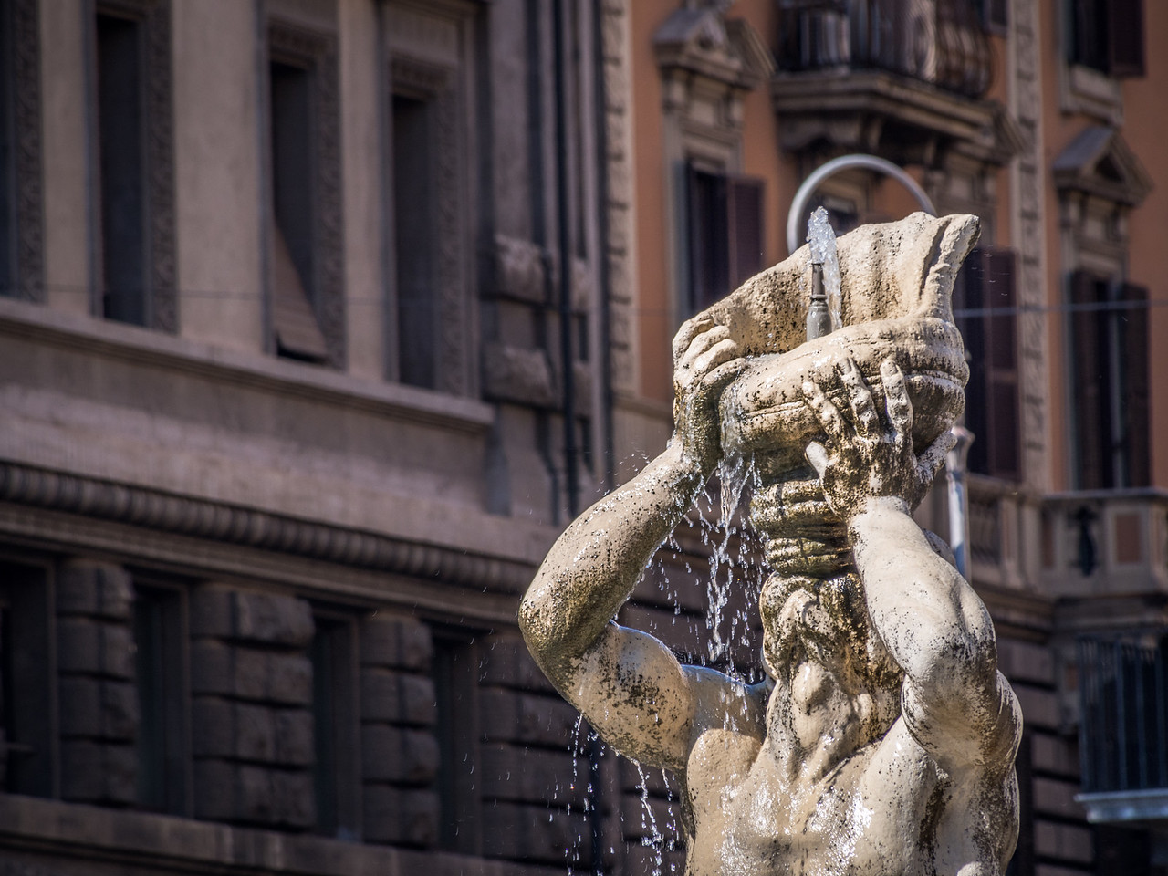 Thirsty Statue of Barberini, Rome