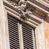 Face Above the Shutters, Rome