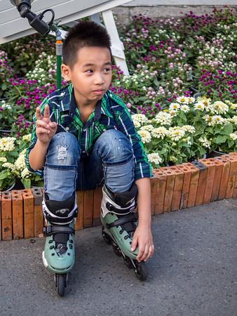 Rollerblade Boy, Saigon