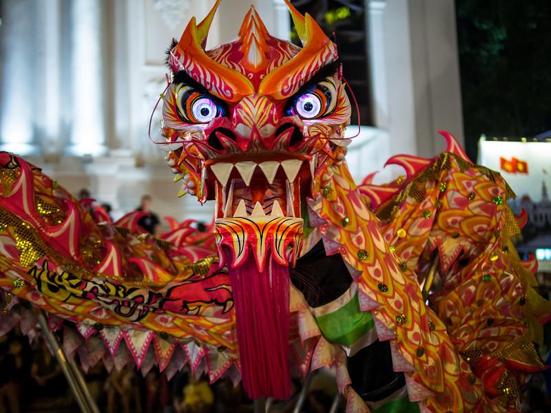 Dragon Eyes, Saigon, Vietnam
