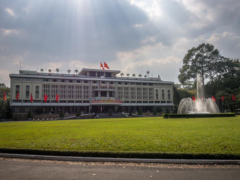 The Reunification Palace, Saigon