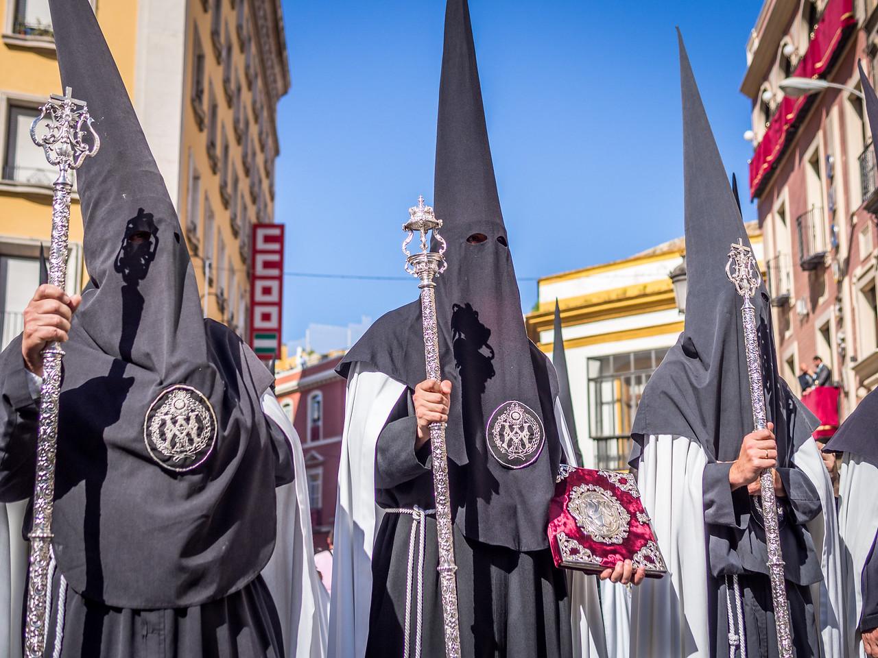 Afternoon Nazarenos, Seville, Spain