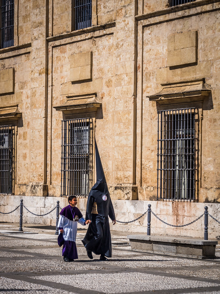 Off to the Procession, Seville