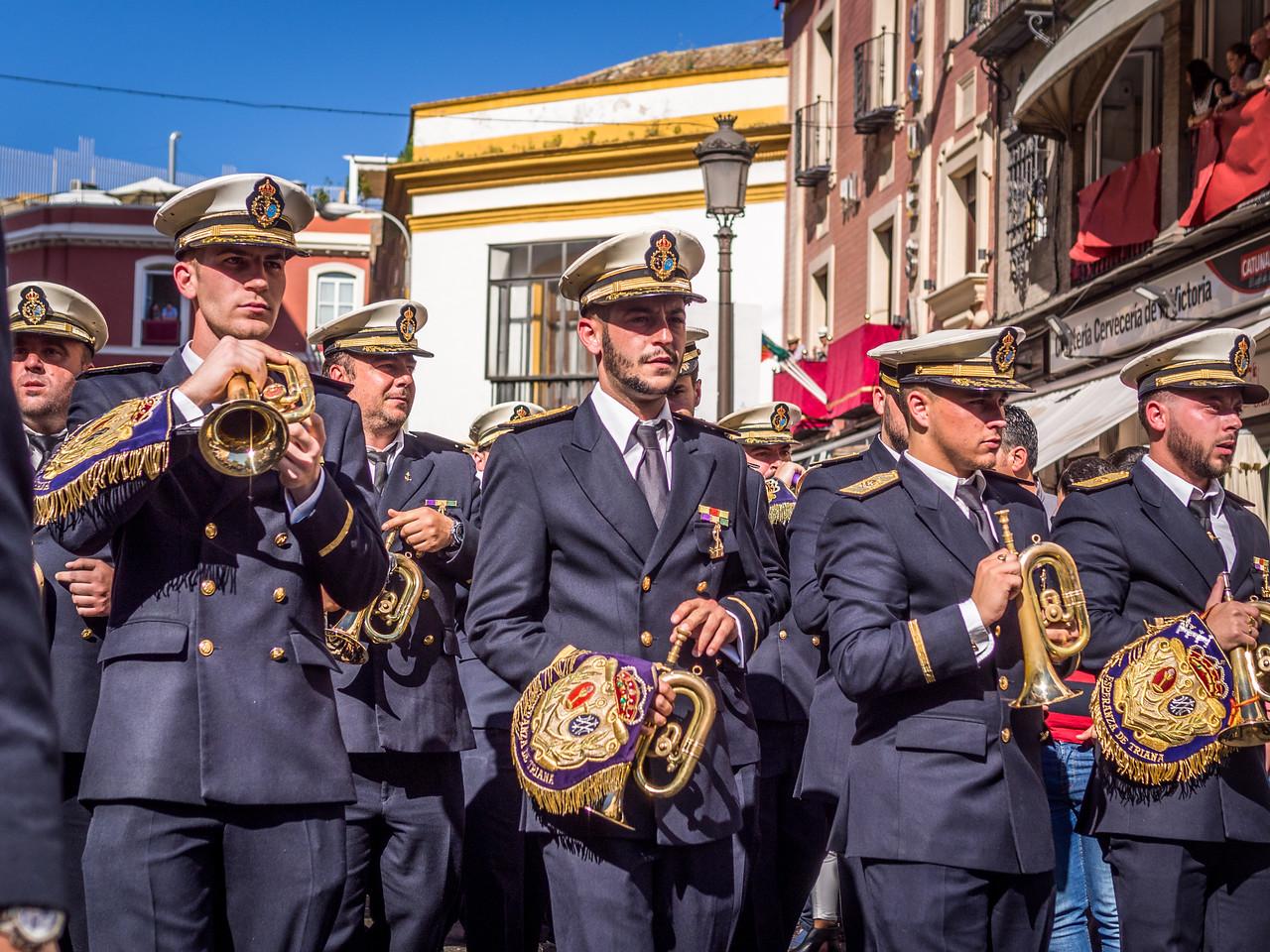 Trumpeters, Seville, Spain