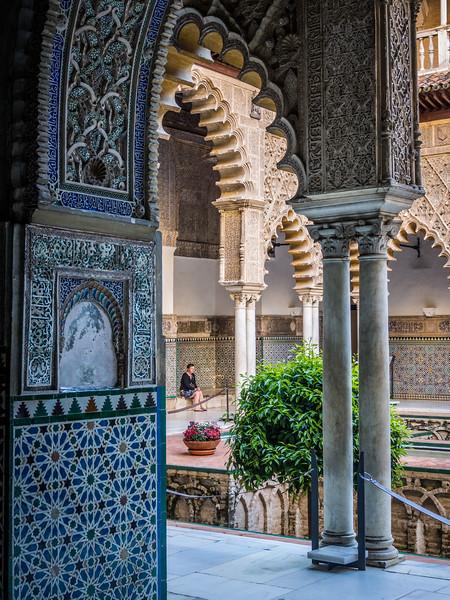 Arabesque, Alcazar, Seville