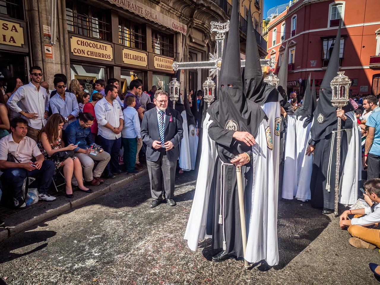 Coming Nazarenos, Seville, Spain