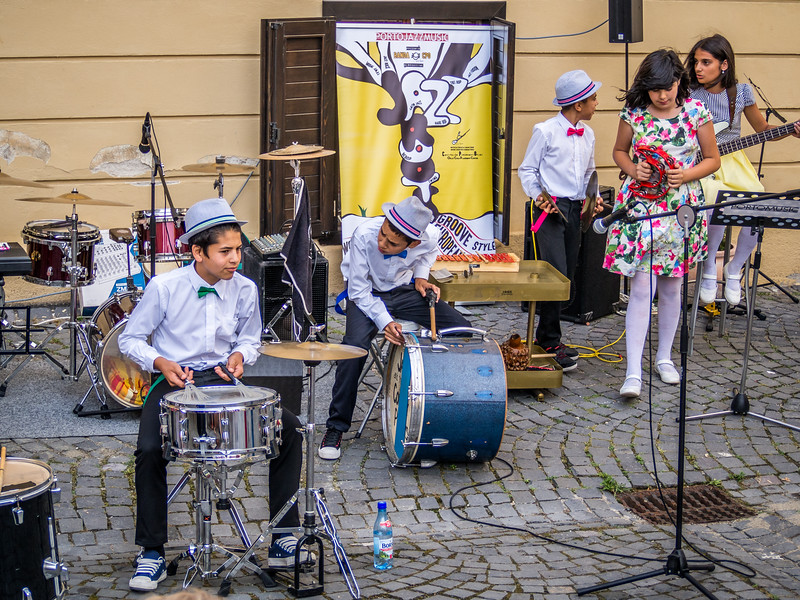 Making Music in Sibiu