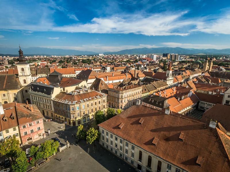Sibiu Panorama, Romania