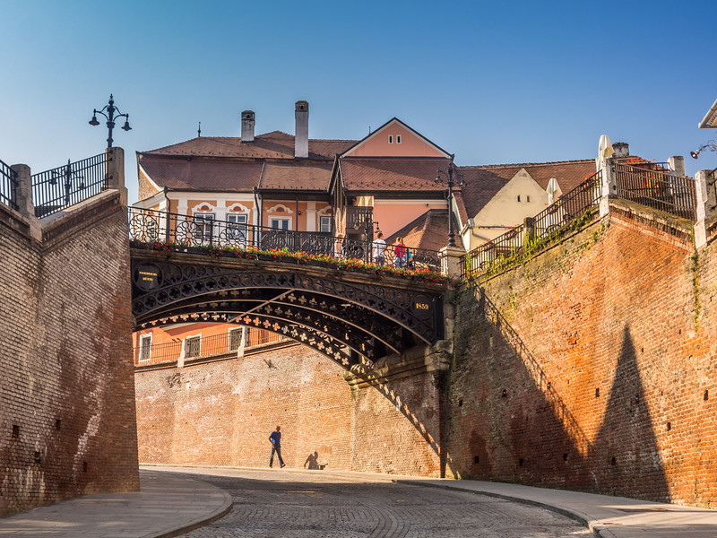 Under Liars Bridge, Sibiu, Romania