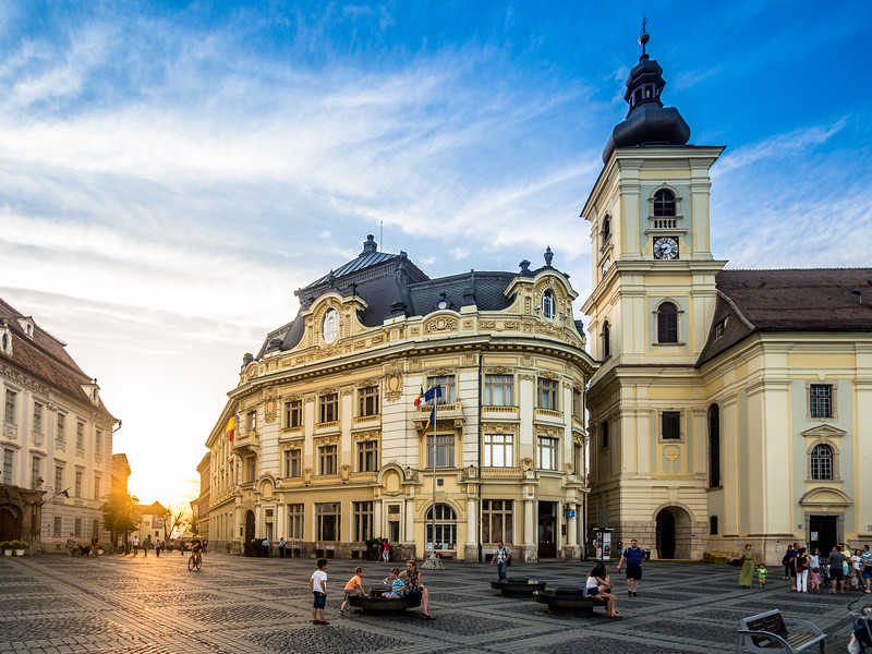 Sibiu Sunset, Romania