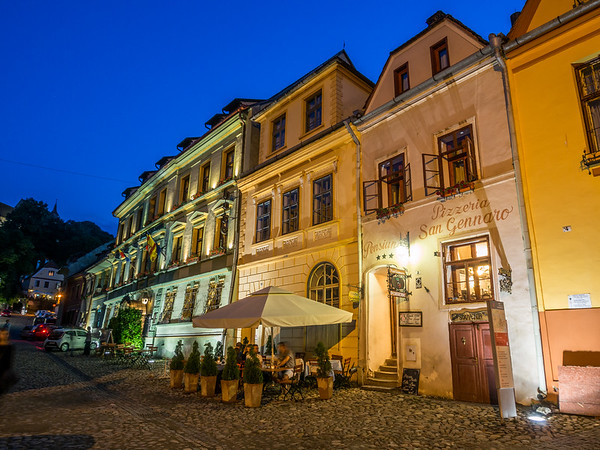 Night in the Old Town, Sighișoara