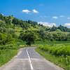 Country Road near Biertan, Romania
