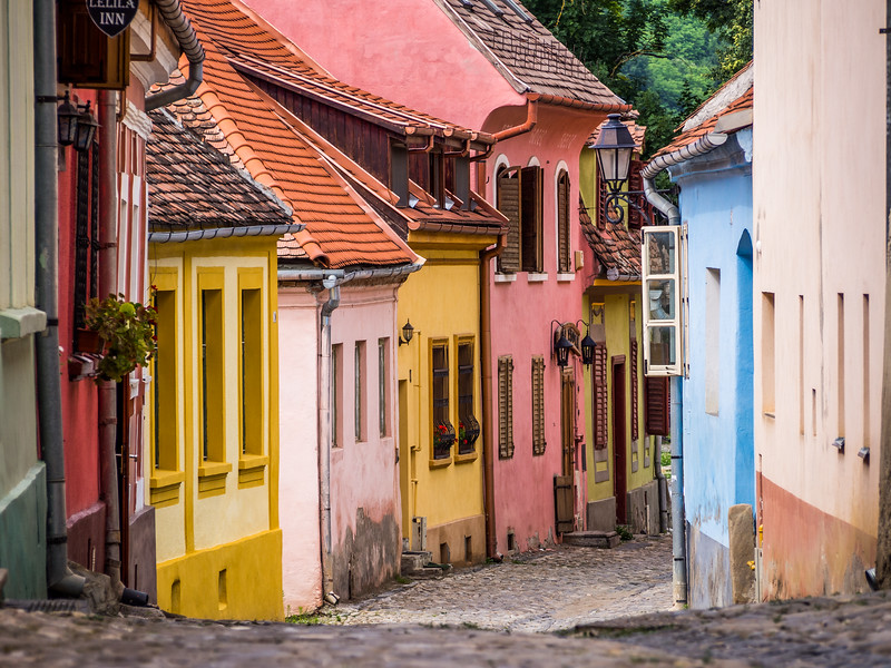Colorful Houses, Sighișoara, Romania
