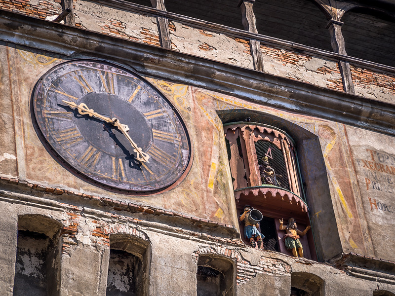 Clocktower Closeup, Sighișoara, Romania