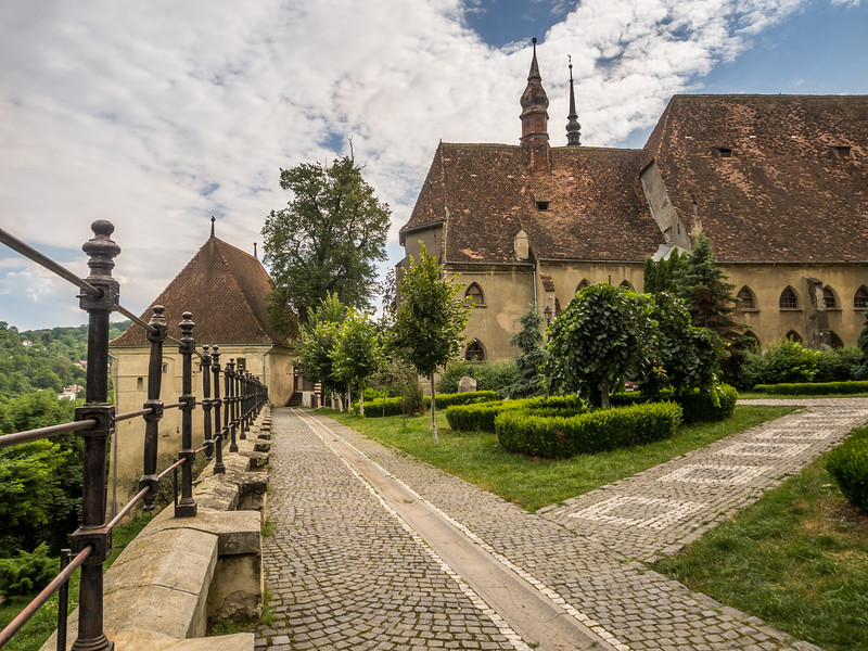 Along the Churchyard, Sighișoara