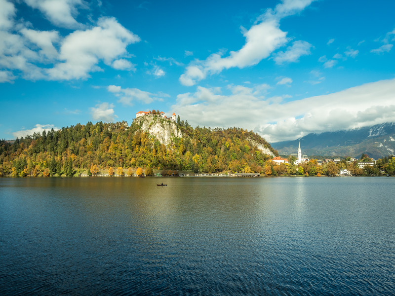 Bled Fortress and the Lake, Slovenia