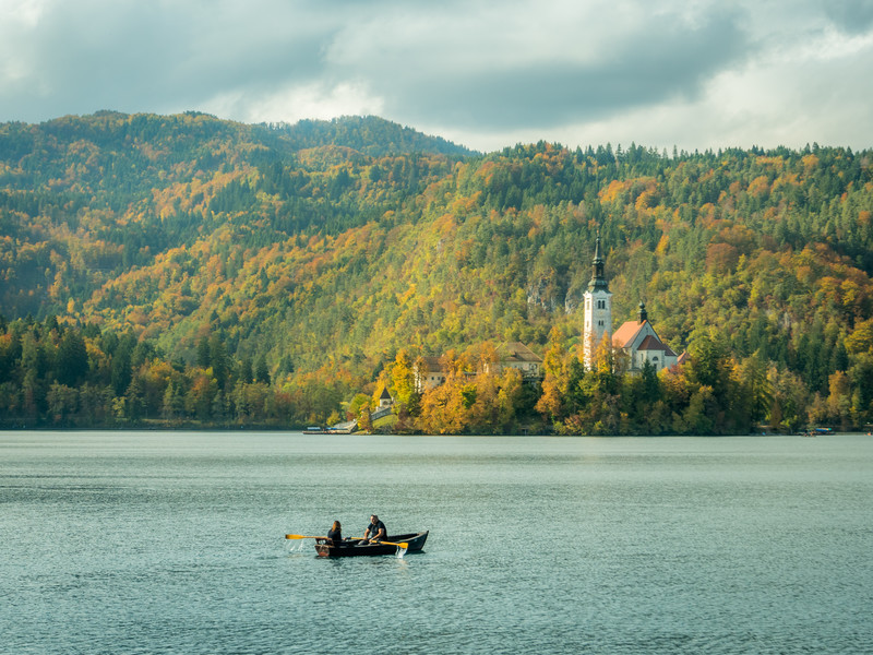 Afternoon Boattrip, Bled, Slovenia