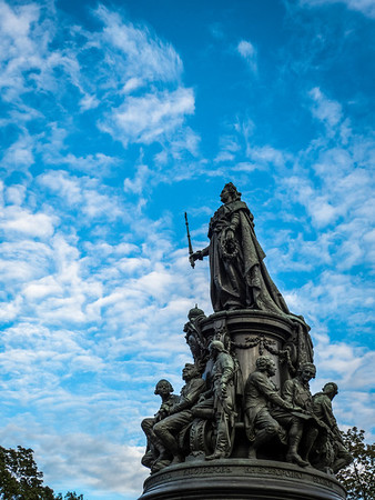 Catherine the Great, St. Petersburg