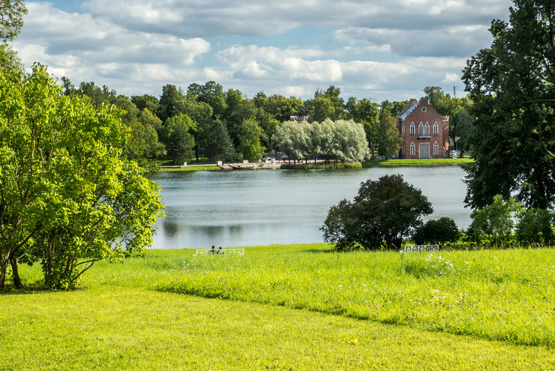 Lakeside Setting, Tsarskoye Selo
