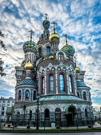 Church of Our Savior Built on Spilled Blood, St. Petersburg