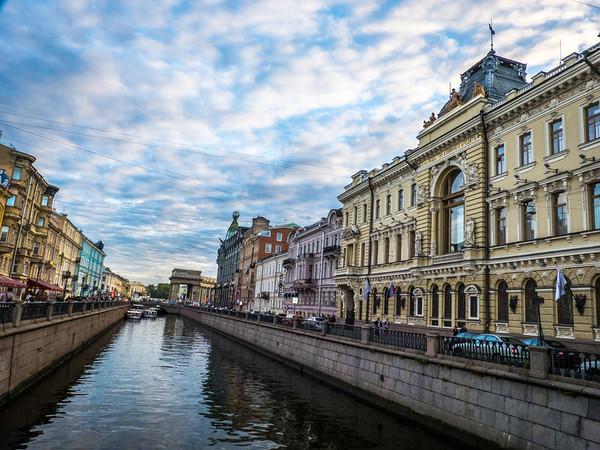 Along Kanala-Griboyedova, St. Petersburg, Russia