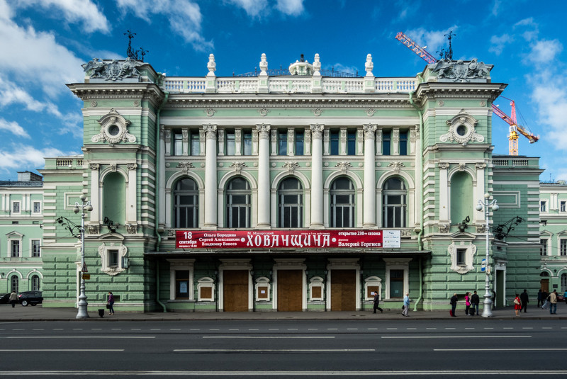 The Marjinsky Theatre, St. Petersburg