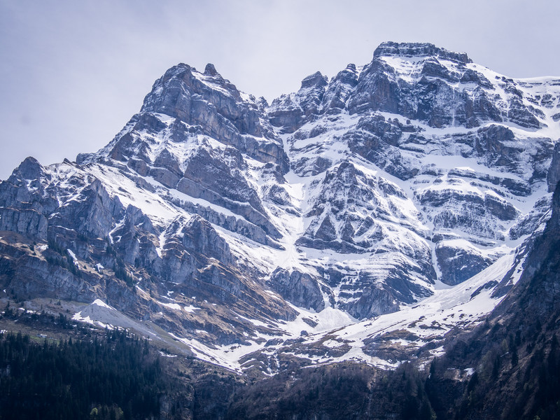 Jagged Mountains, Glarus, Switzerland