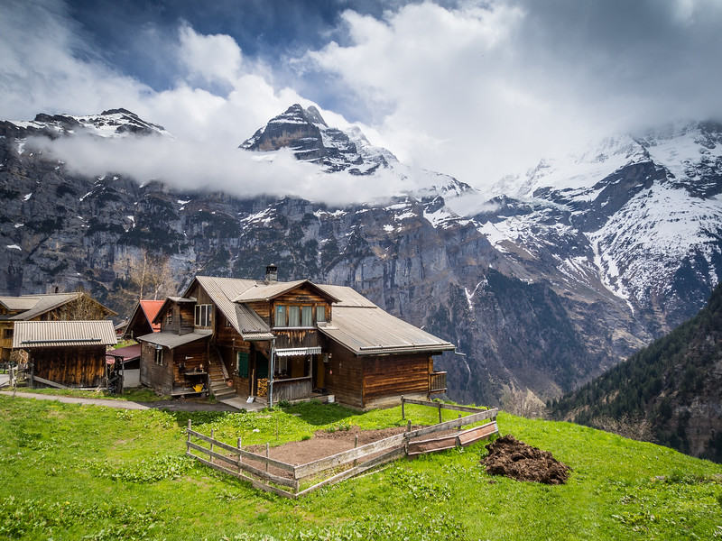 Home with a View, Gimmelwald, Switzerland