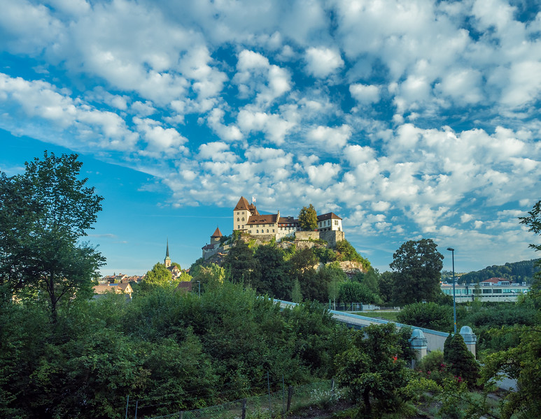 The Burg and the Clouds, Burgdorf, Switzerland