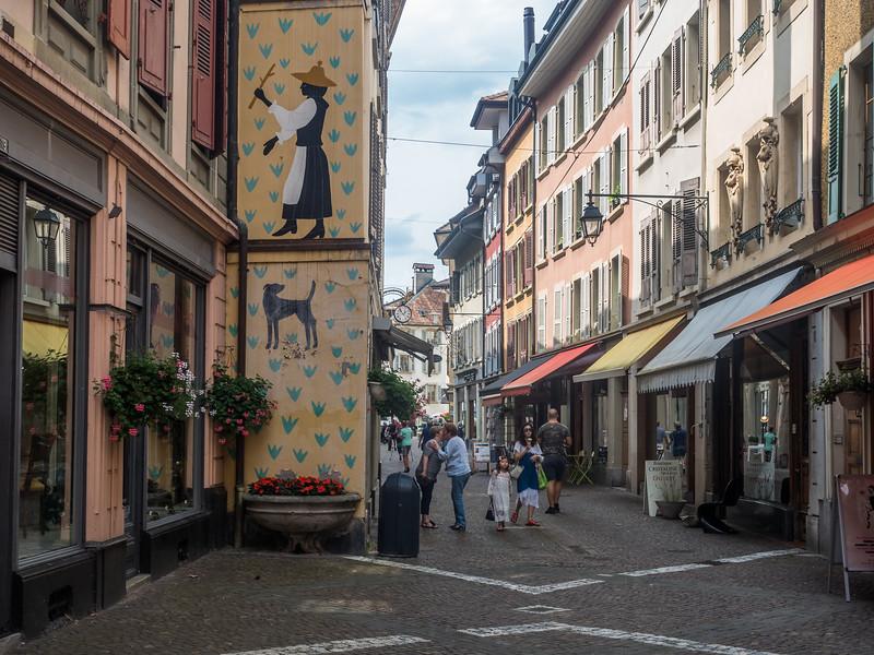 Street Scene, Vevey, Switzerland