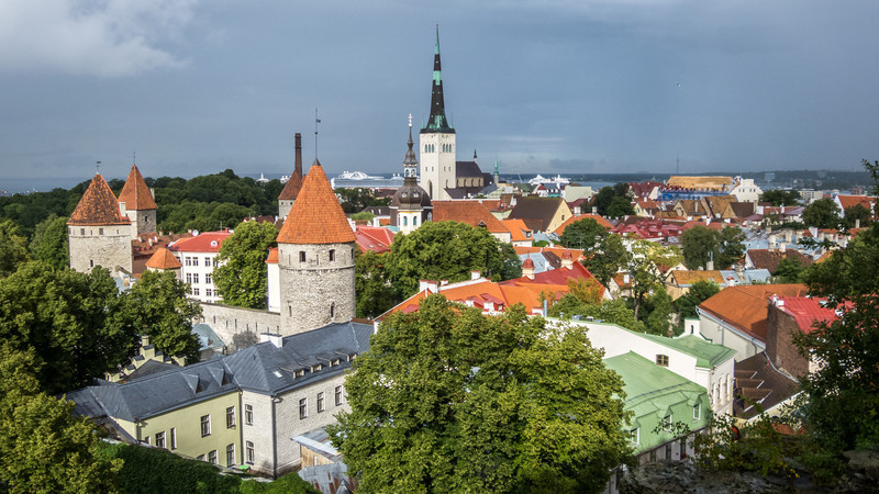 Tallinn Towers from Toompea