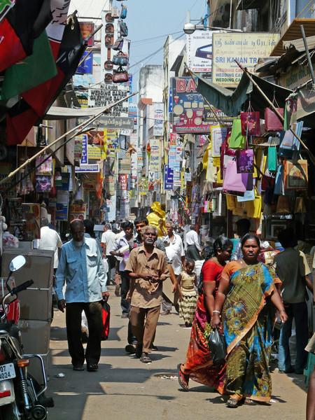 Alley in Georgetown, Chennai