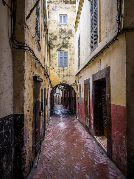 Alleyway in the Old Medina, Tangiers