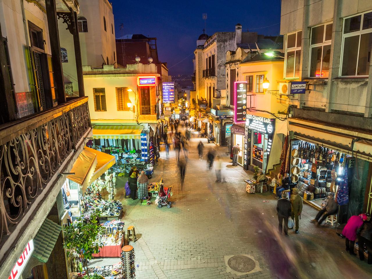 Night in the Old Medina, Tangiers